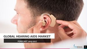 Global Hearing Aids market Forecast 2019-2027 | Inkwood Research
