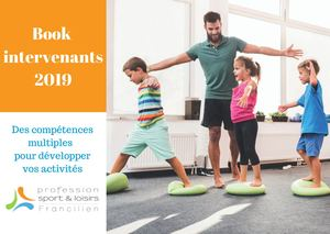 Book Intervenants 2019 Profession Sport Et Loisirs