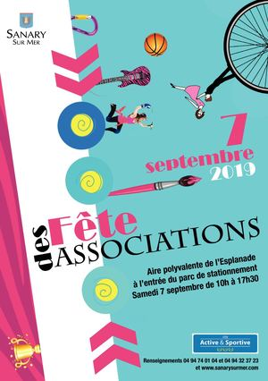 Programme Fête des associations 2019