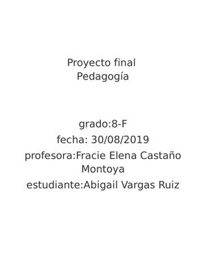 Proyecto final.