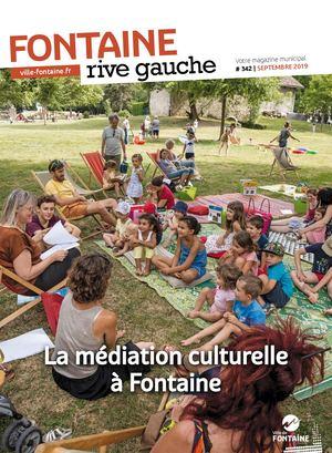 Fontaine Rive Gauche 342 Septembre 2019