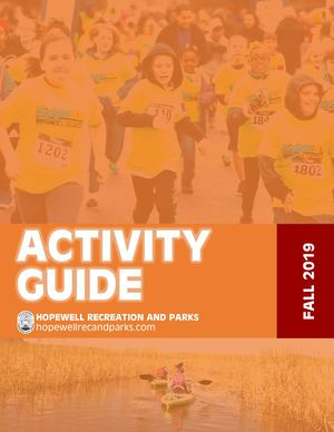 Hopewell Recreation and Parks Fall Activity Guide 2019