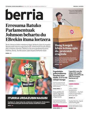 BERRIA / 2019-09-05