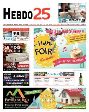Calaméo Hebdo Pontarlier 2019 Semaine 37