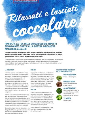 new high quality top fashion quality products Calaméo - Aloe Cellulose Mask - maschera con aloe vera per ...