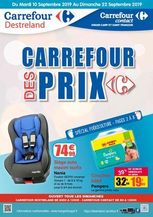 Calaméo 20190910 Carrefour Destreland Carrefour Des Prix