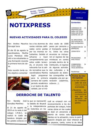 Boletin Noti Xpress