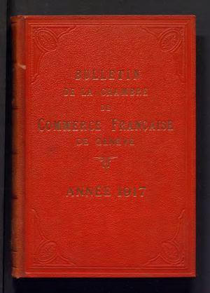 Calameo Bulletin Mensuel De 1917 Ccifs Archives