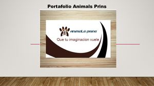 Portafolio de Animals Prins