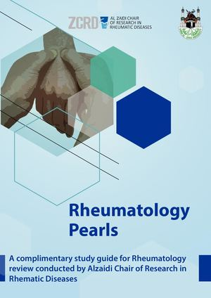 Rheumatology Pearls 22pdf