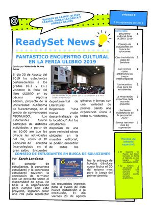 Boletin ReadySet News