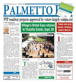 Palmetto Bay News 9.10.2019