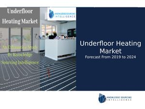 Global Underfloor Heating Market