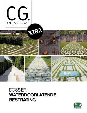 CGc 03 2019 Extra Waterdoorlatende Bestrating