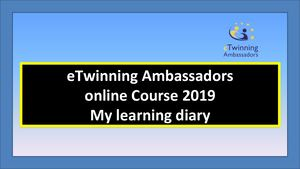 My Learning Diary Etw