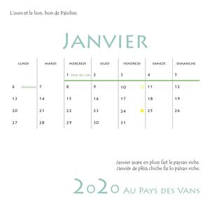 Calendrier Pdv 24 Pages Int
