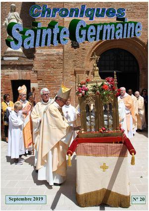 Les Chroniques de Sainte-Germaine reviennent sur le pèlerinage 2019