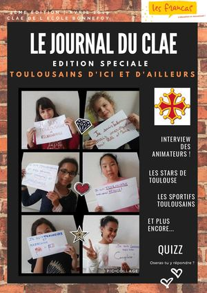 Journal clae Bonnefoy