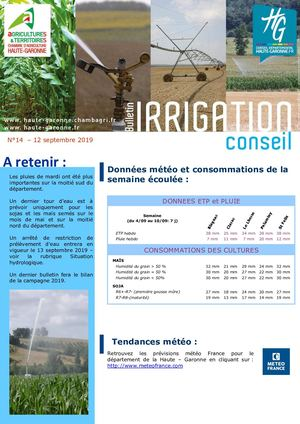 Bulletin Irrigation 14