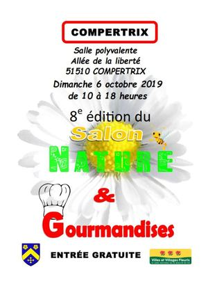 programme du Salon Nature & Gourmandises 2019
