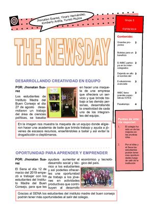The newsday