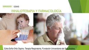 Inhaloterapia Y Farmacología