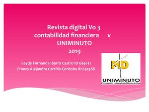 Revista Digital Vo 3  CONTABILIDAD FINANCIERA V