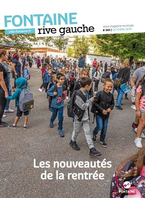 Fontaine Rive Gauche 343 Octobre 2019