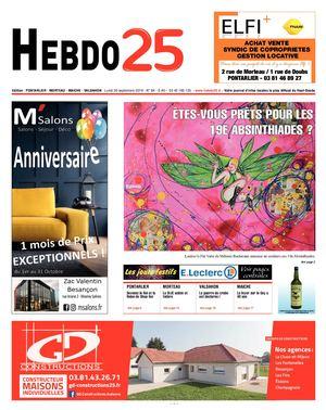 Calaméo Hebdo Pontarlier 2019 Semaine 40