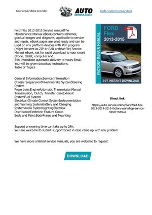 Auto Parts & Accessories 2015 Ford Flex Wiring Diagrams ... on fiat 128 wiring, fiat 500 pop diagram, fiat 124 1978 engine diagram,