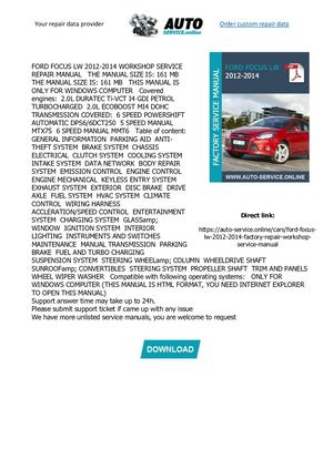 Blue book value on 2012 ford focus