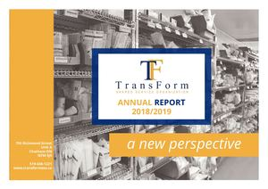 TransForm SSO Fiscal 2018/19 Annual Report