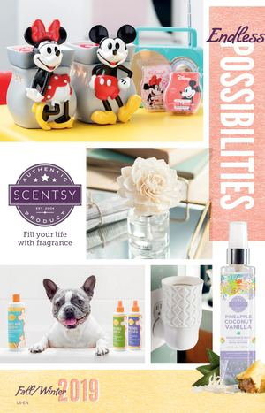 Scentsy Fall Winter 2019 Calatog