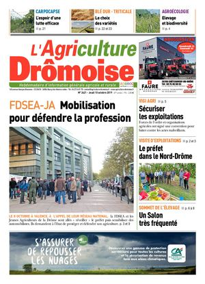 Journal L'Agriculture Dromoise N)2421 S41