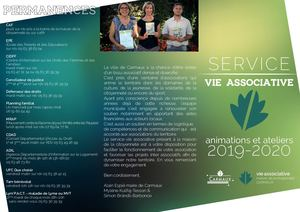 Plaquette service vie associative