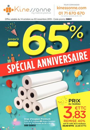 Catalogue Kinessonne Anniversaire