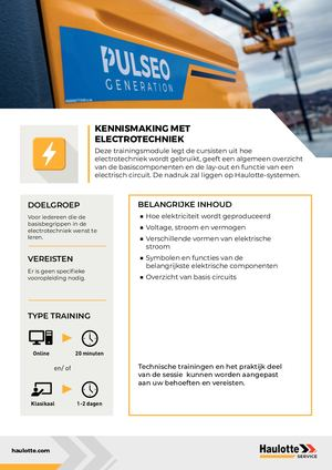 ELECTRICITY - NL - TRAINING