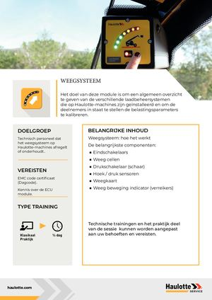 LOAD MANAGEMENT SYSTEM - NL  - TRAINING