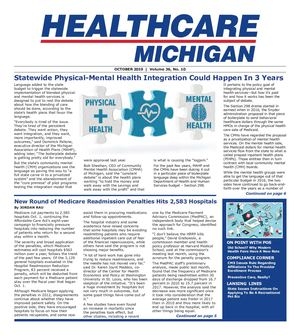 Healthcare Michigan October 2019