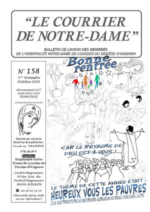 Courrier de ND n°158