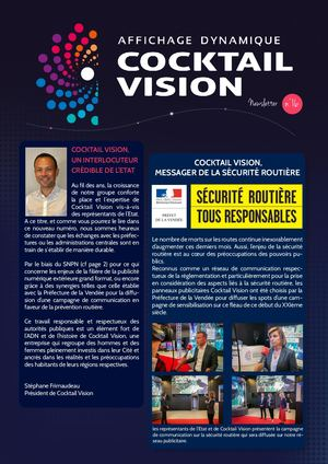 COCKTAIL VISION - NEWSLETTER n°16
