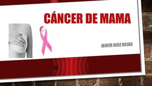 Cáncer De Mama Power Point Hdpa