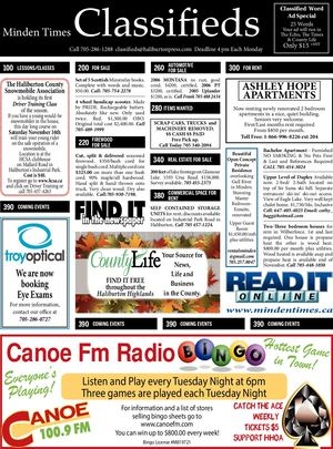 Classifieds November 6, 2019