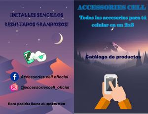 Catalogo accessories cell