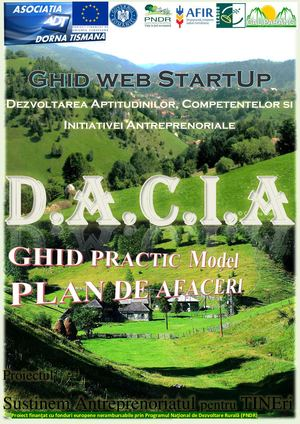 Ghid Practic MODEL PLAN De AFACERI Start Up D A C I A ADT GAL PARANG