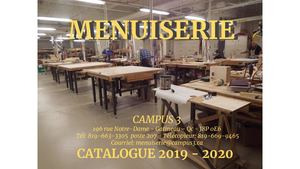 Campus 3 Menuiserie Catalogue 2019 2020