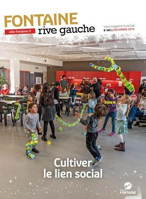 Fontaine Rive Gauche 345 Décembre 2019