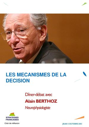Alain BERTHOZ, neurophysiologiste