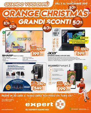 Volantino Expert Orange Christmas