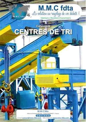 Catalogue Centres De Tri
